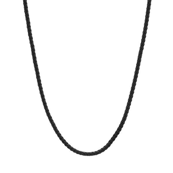 John Hardy Leather Cord Classic Chain Necklace
