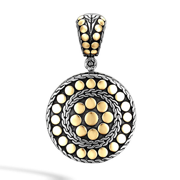 John Hardy Dot Small Round Pendant Enhancer