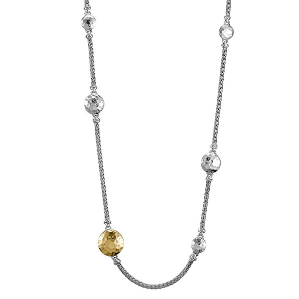 John Hardy 18K Gold & Silver Station Sautoir Palu Necklace