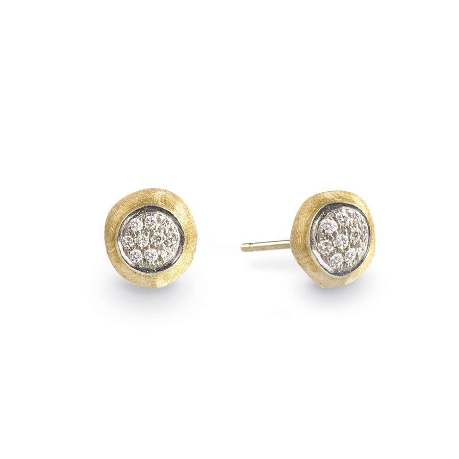 Marco Bicego Delicati Yellow Gold Diamond Stud Earrings
