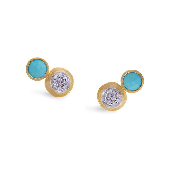 Marco Bicego Jaipur Diamond & Turquoise Earrings