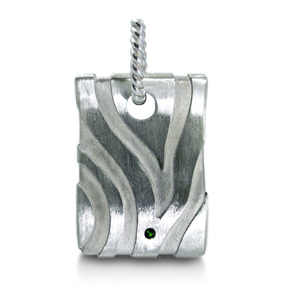 Precious Earth Zebra Dog Tag