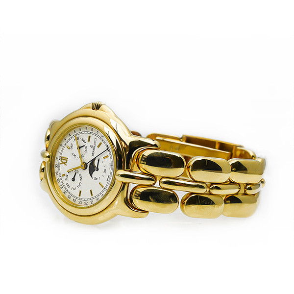 Pre-Owned Bertolucci 18kt Yellow Gold Pulchra Moonphase Watch