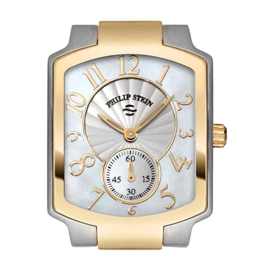 Philip Stein Watch Stainless Classic Two Tone Gold