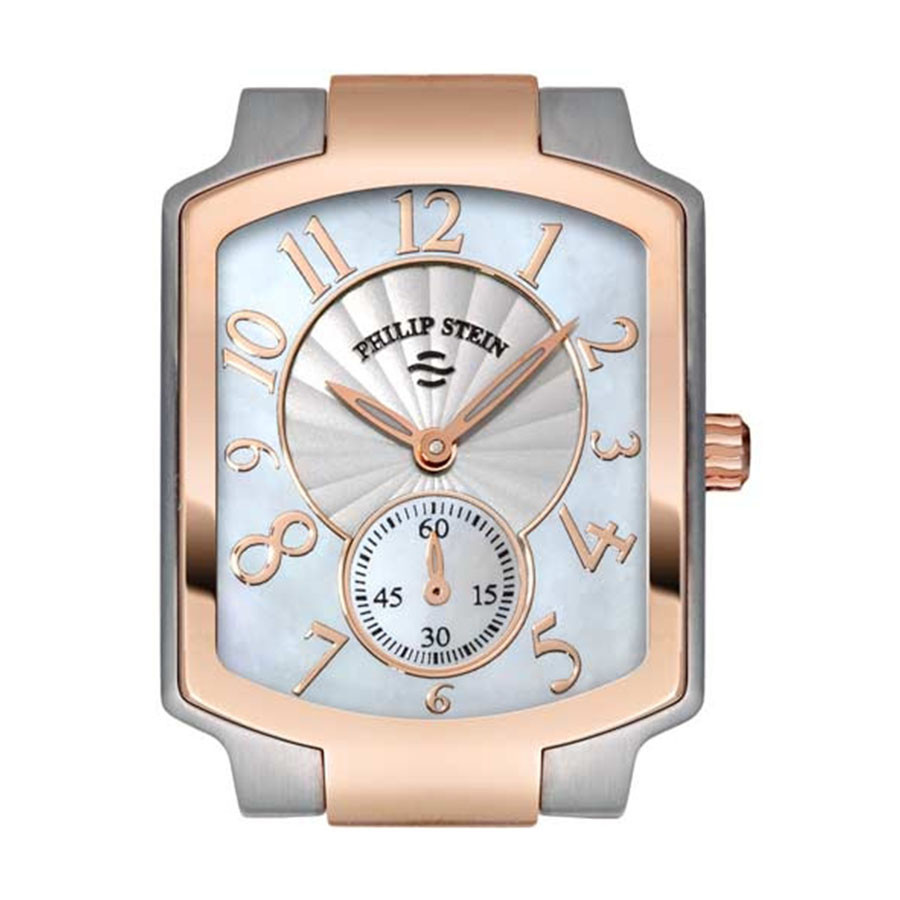 Philip Stein Watch Stainless Classic Two Tone Rose Gold