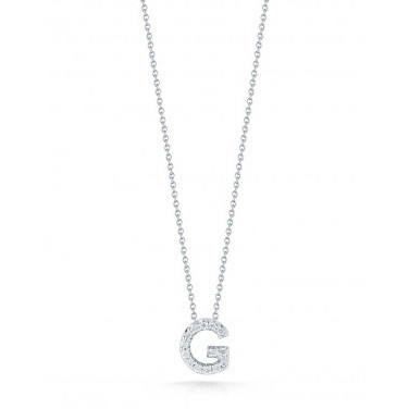 Diamond Initial G Necklace