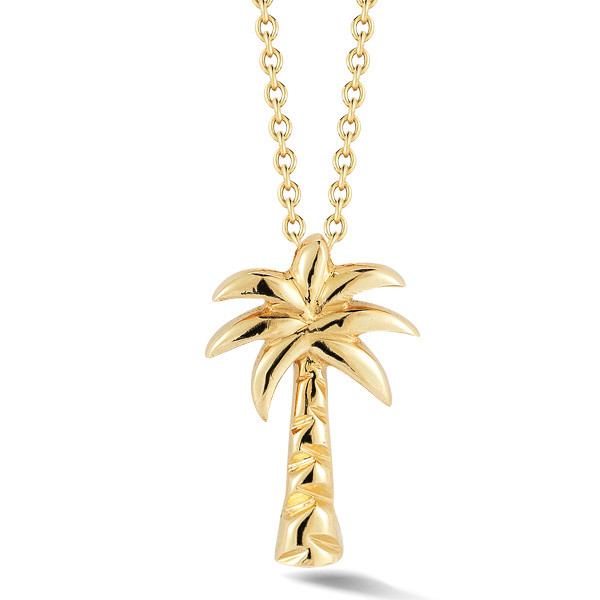 Roberto Coin Gold Palm Tree Necklace