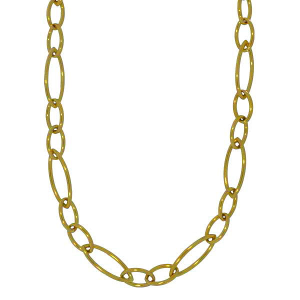 Roberto Coin Oval Link Necklace