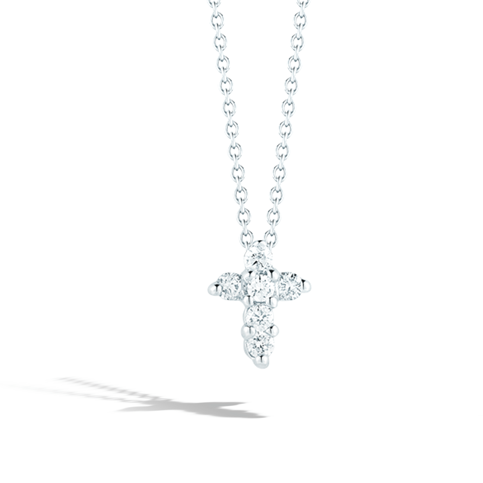 Roberto coin 001883awchx0 white gold diamond cross roberto coin tiny treasures white gold small diamond cross pendant necklace aloadofball Choice Image