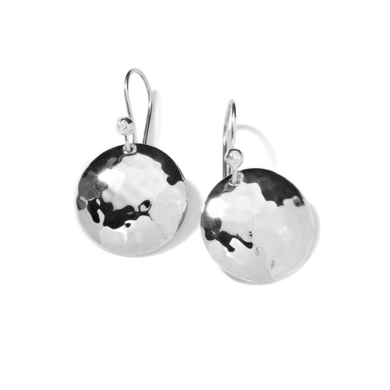 IPPOLITA Silver Classico Disc Drop Earrings