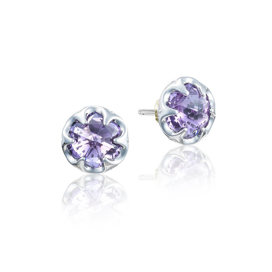 Tacori Amethyst Petite Crescent Bezel Sonoma Skies Earrings