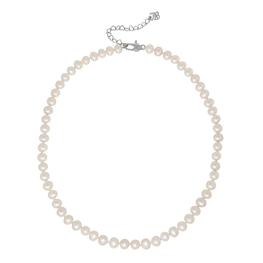 Honora Girls White Freshwater Cultured Pearl Strand Necklace