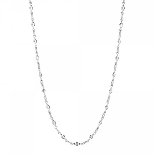 Tacori Classic Rock Silver Necklace