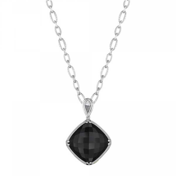 Tacori 18K925 City Lights Black Onyx Necklace