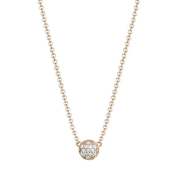 Tacori Sonoma Misk Rose Gold Diamond Pendant