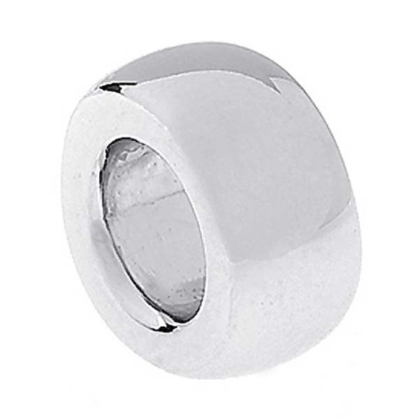Aaron Basha Spacer 18kt White Gold Charm