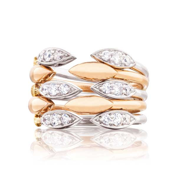 Tacori The Ivy Lane Stacked Marquise Ring