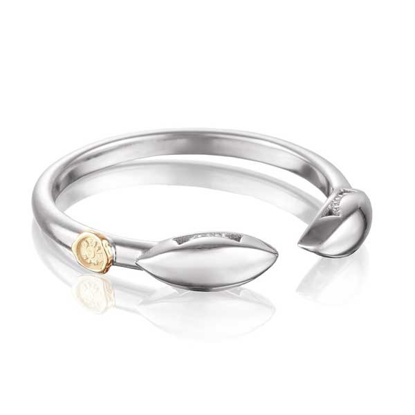 Tacori The Ivy Lane Silver Marquise Ring