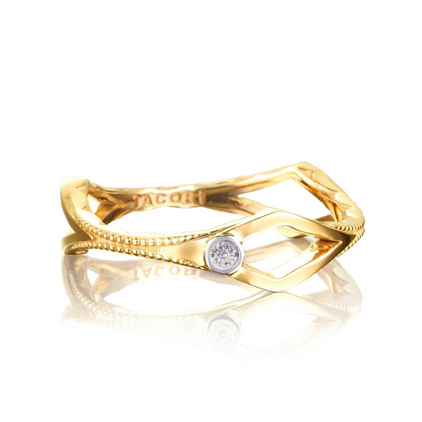 Tacori Yellow Gold The Ivy Lane Peak Ring
