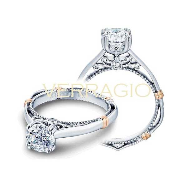 Verragio Parsian Solitaire Engagement Ring
