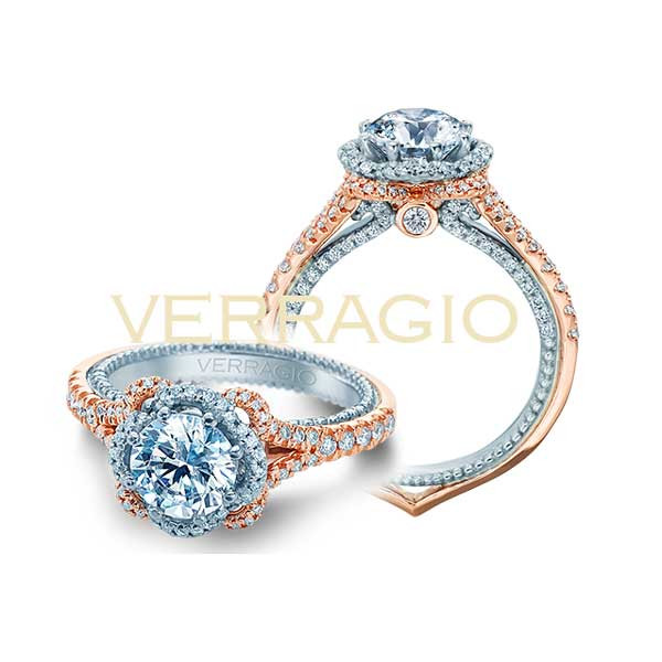 Verragio Couture ENG-0444-2RW Engagement Setting