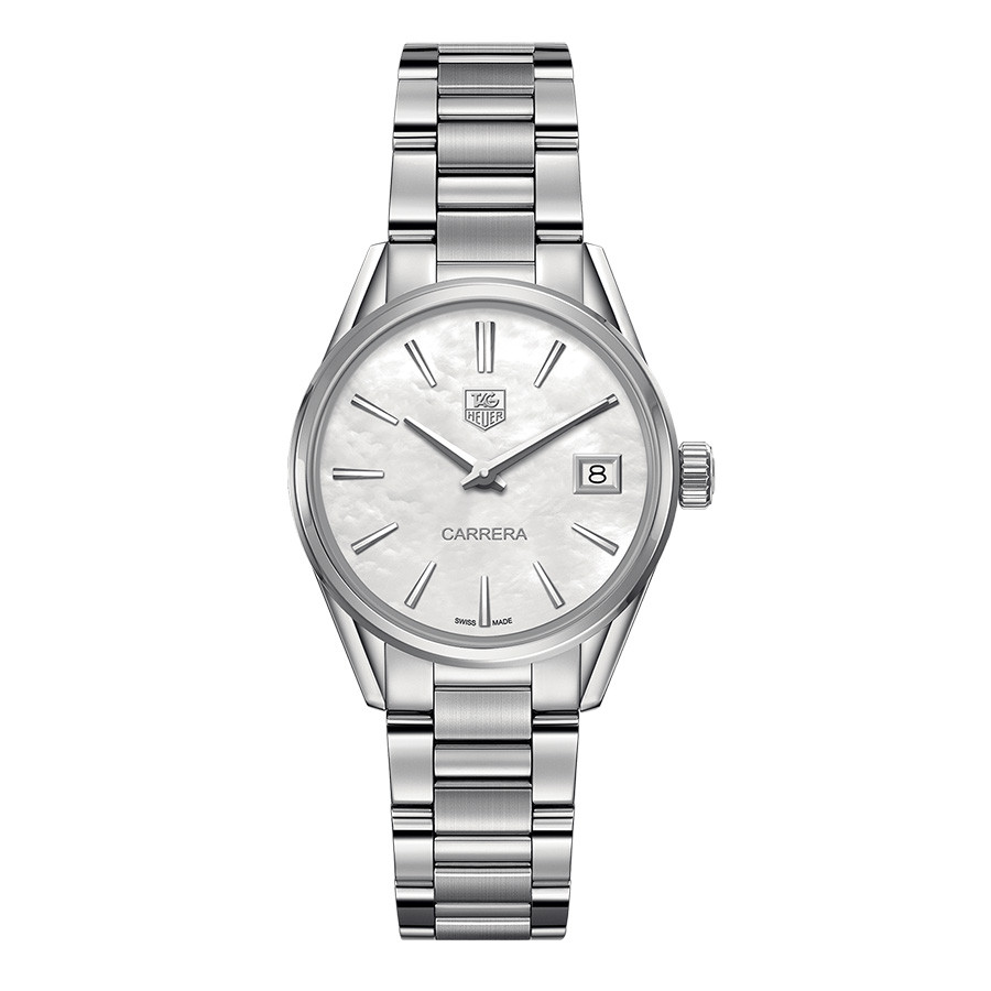 Tag Heuer  Calibre 16 White Dial Carrera Watch