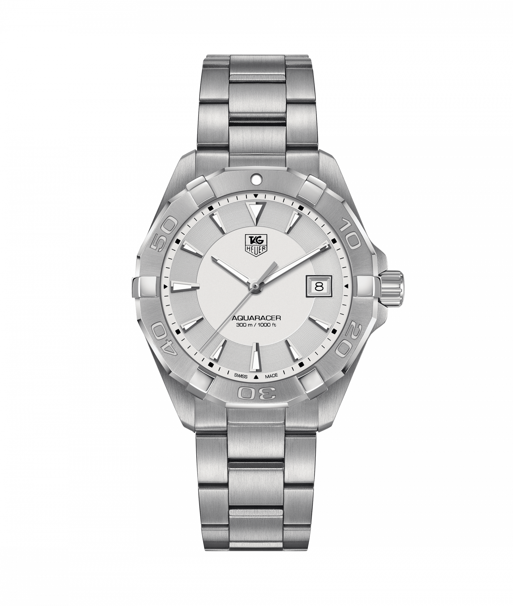 Tag Heuer Aquaracer Stainless Steel 40.5mm Watch