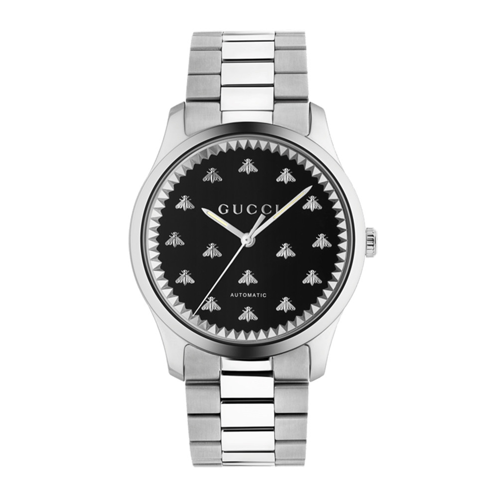Gucci G-Timeless 42mm Stainless Steel Watch Main Image face