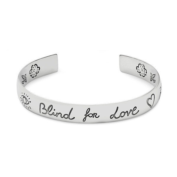 Gucci Blind For Love Wide Bangle