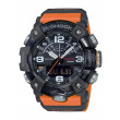 G-Shock Carbon Core Orange and Black Watch front view