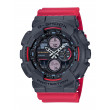 G-Shock Red And Black Analog-Digital Watch front view