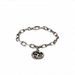 Gucci Interlocking G Charm Link Bracelet in Sterling Silver main view