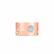 Roberto Coin Pois Moi Luna Diamond Ring in 18K Rose Gold front view