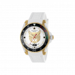 Gucci Dive 40mm Gold Feline Watch face