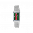Gucci G-Frame 34mm Stainless Steel Mesh Watch face