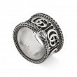 Gucci GG Marmont Sterling Silver Snake Ring