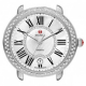 Michele Serein 16 Mother of Pearl Dial with Diamond Bezel Watch
