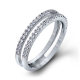Simon G Passion Double Diamond Wedding Band