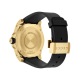 Gucci Dive 45mm Yellow Gold Snake Watch angle