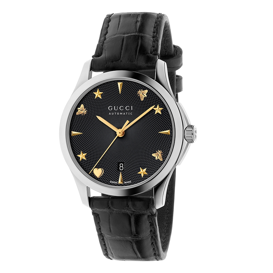 a57247d6153 Gucci G-Timeless 38mm Two-Tone Automatic Watch