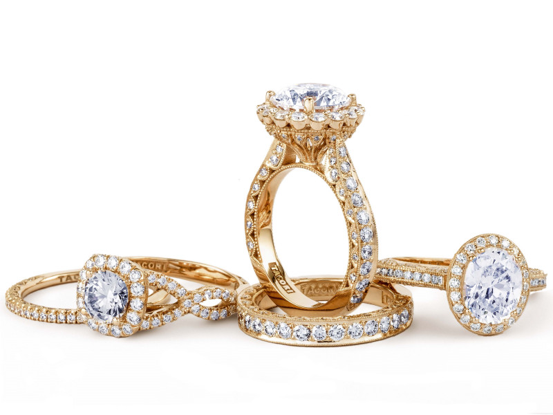 Tacori Engagement Rings and Bands