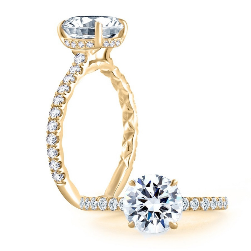 A. Jaffe Engagement Ring Setting