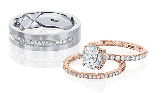 A JaffeWedding Rings