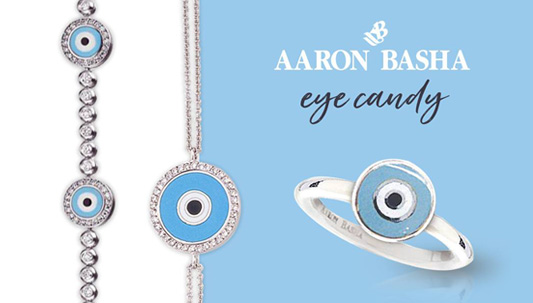 Aaron Basha Evil Eye Jewelry