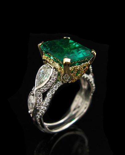 Robert Pelliccia Emerald Ring
