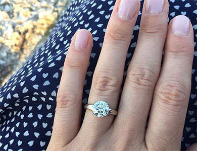 The Perfect Diamond Engagement Ring
