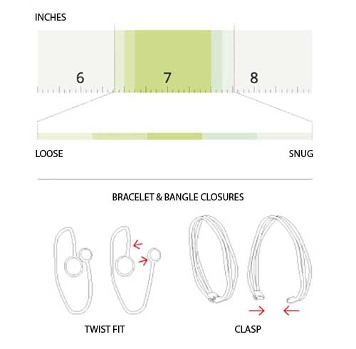 Marco Bicego Bracelet & Bangle Size Guide