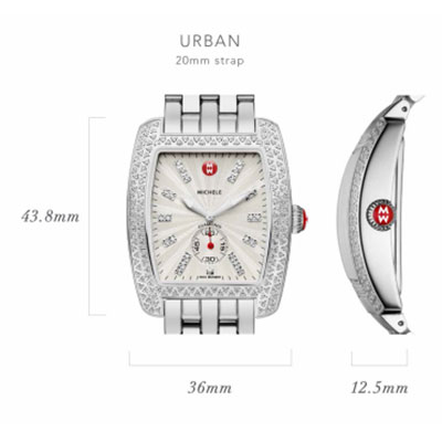 Michele Urban Watch Case Size Guide