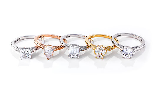 Simply Engagement Rings