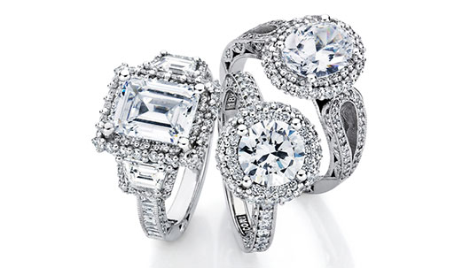 Tacori Blooming Beauties Engagement Rings